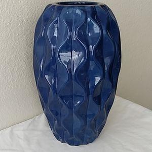 Navy Vase